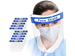 ZAMAT 100Pcs Premium Face Shield