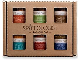 Spiceologist Rub 6-Pack Gift Set