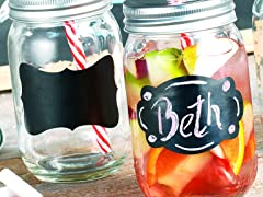 Chalk it Up 16oz Mason Jars-Set of 4