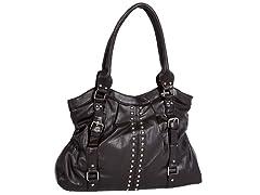 Parinda CANNA Handbag, Brown