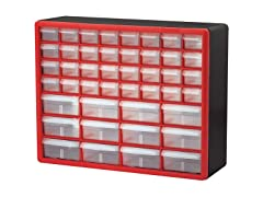 44-Drawer Hardware & Craft Cabinets