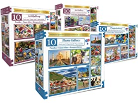 Longshore Jigsaw Puzzles, 20 Pack