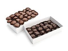 Salted Chocolate Caramel Pecan Patties