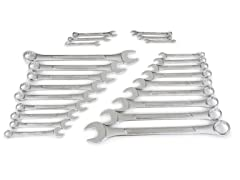 Combination Wrench Set, 24-Piece
