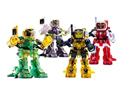 4-Pack of Battroborg Robots