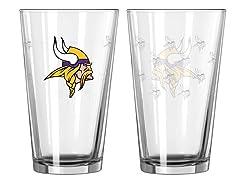 Vikings Pint Glass 2-Pack