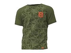 Husqvarna Raglan Short Sleeve T-Shirt
