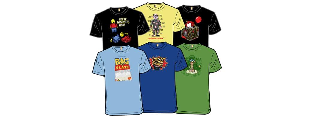 New Shirts on Wednesdays!