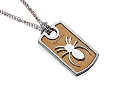 Spider Two-Tone Pendant