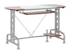 Dahan Computer Desk w/CPU Stand