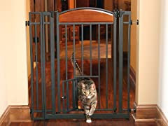 Home Décor Wood/Metal Walk Through Gate