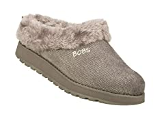 Skechers Women's Bobs Snuggle, Grey (6)