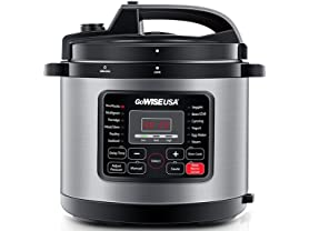 GoWISE USA 12-in-1 Electric High-Pressure Cooker
