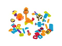 Bristle Shaped Building Block Toy Set