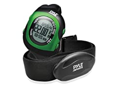 Bluetooth Fitness Heart Rate Watch - Green