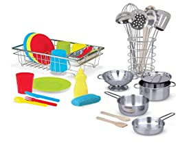 Utensils, Pots & Pans, Wash & Dry Dish Set