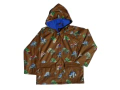 Monster Truck Rain Coat