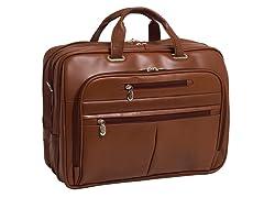 "Rockford Leather Fly-Thru™ 17"" Laptop Case"
