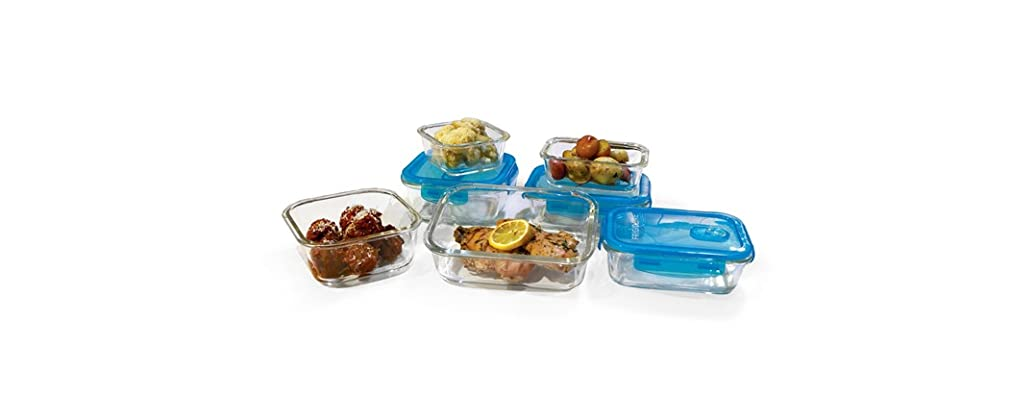 Frigidaire 14-Pc Glass Food Storage Set