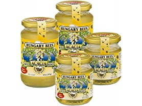 Hungary Bees Acacia Honey, 4-Pack
