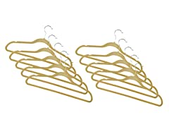 Camel Fleece Hanger 120-Pack
