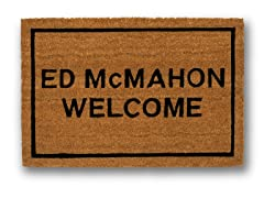 ED McMAHON WELCOME Mat