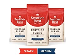 Seattle's Best Coffee Medium Roast, 3pk