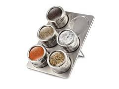 6-PC Magnetic Spice Rack