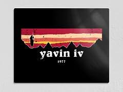 """Yavin IV"" 11"" x 14"" Metal Poster"
