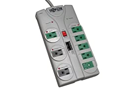 8-Outlet 2160J Surge Suppressor w/ 8ft Cord