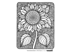 """The Giant Mandala Sunflower"" by OfficeInk"