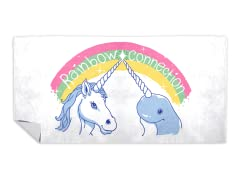 """Magical Rainbow Connection"" Beach Towel"