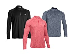 UA Tech 1/4 Zip Long Sleeve Shirt