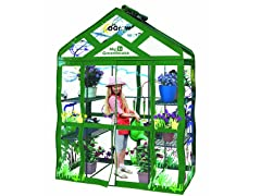 Walk-in 3-Tier 6-Shelf Kids Greenhouse