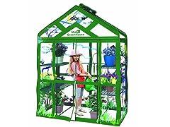 Walk-in 3-Tier 6-Shelf Kids Greenhouse