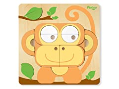 Multi-Solution Shape Puzzle - Monkey