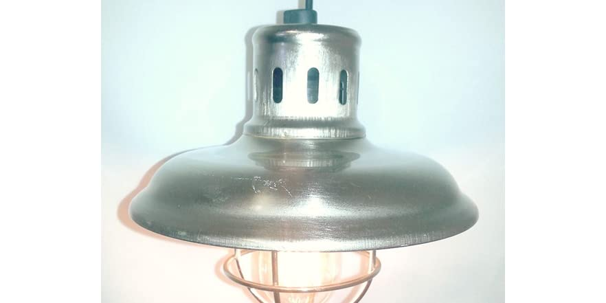 Galvanized Metal String Party Lights : Galvanized Lantern for String Lights