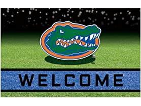 "NCAA 18""x30"" Welcome Rubber Door Mats"
