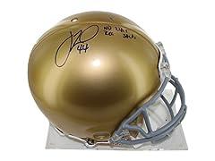 Justin Tuck Notre Dame Full Size Helmet