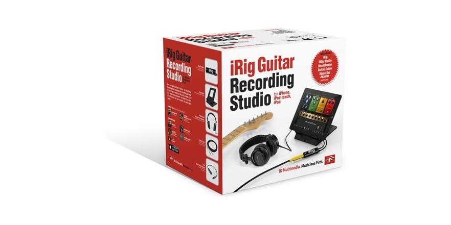irig guitar recording studio bundle. Black Bedroom Furniture Sets. Home Design Ideas