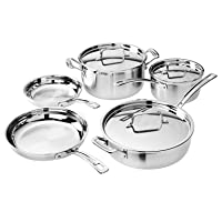 Deals on Cuisinart MultiClad Pro Cookware 8-Pc Cookware Set