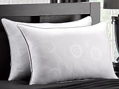 2Pk MicronOne White Down Soft Pillow