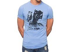 Batman 1966 Cat Lover Tv Series T-Shirt