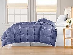 Down Alternative Comforter-Navy-King