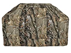Hickory Camo  BBQ Grill Cover, M