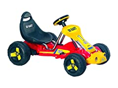 Red Racer Battery Powered Go-Kart