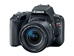 Canon EOS Rebel SL2 DSLR with EF-S 18-55mm Lens