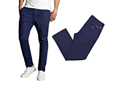 Men's Slim Fit Cotton Stretch Chinos