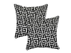 Oskar Terrace 17x17 Pillow - Set of 2