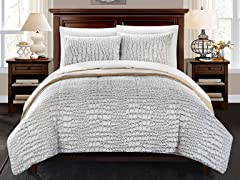 Chic Home Alligator Queen Comforter